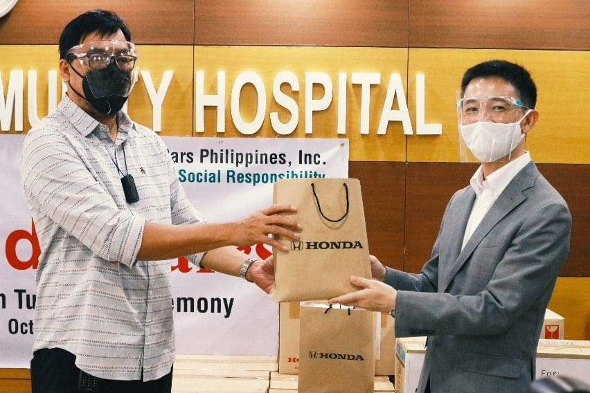 Honda Cars gives away PPEs and computers to celebrate 3 decades in PH