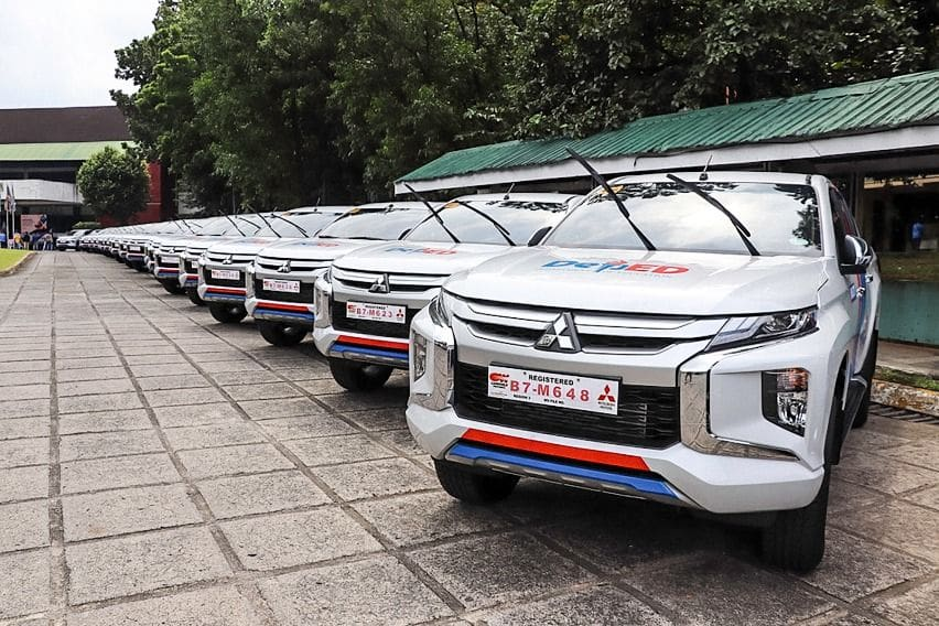 Mitsubishi Strada boosts Department of Education's mobility efforts