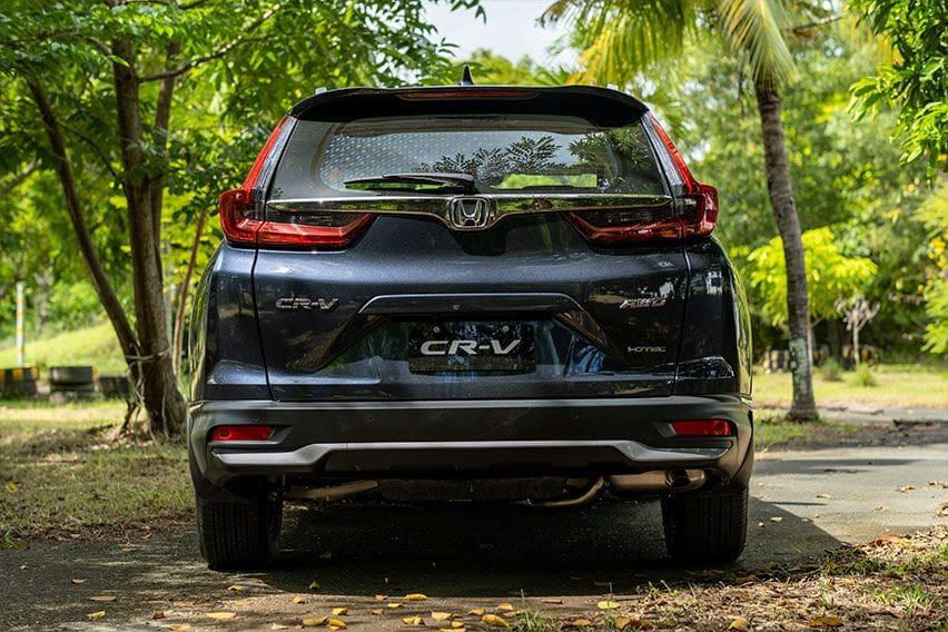 CRV rear