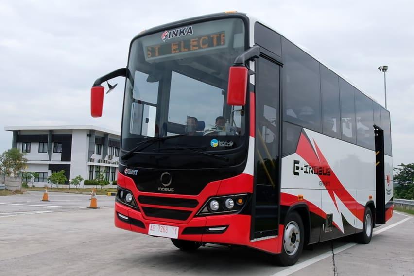 Bus Listrik E-Inobus Sedang Uji Jalan, Bakal Dipasarkan PT INKA (Persero)