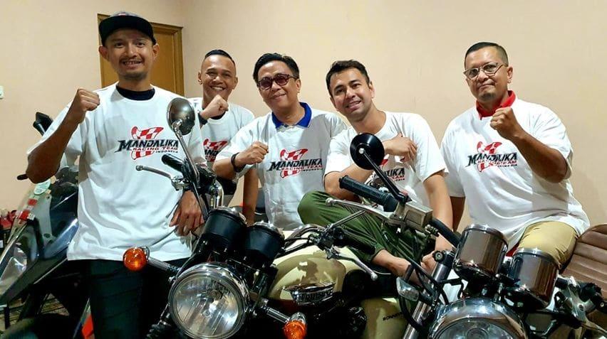 Mandalika Racing Team Gandeng Raffi Ahmad dan Garuda Indonesia