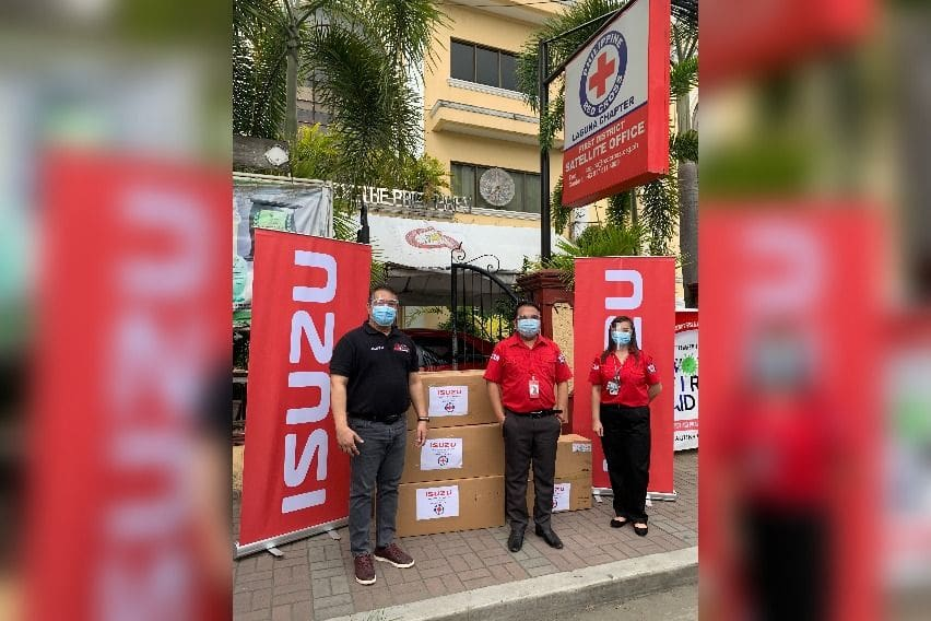 Isuzu PH does another round of help for partner-frontliners
