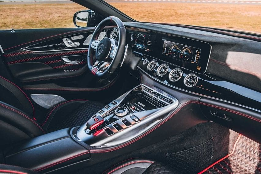 Brabus Rocket 900 interior