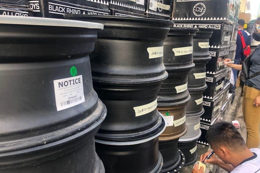 P7M worth of fake Black Rhino Wheels seized by authorities