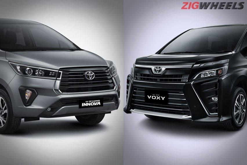 Pilihan Dilematis, Toyota Kijang Innova V Baru atau Toyota Voxy Bekas?