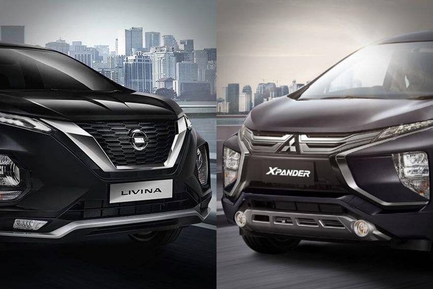 Teliti Perbedaan Fisik Mitsubishi Xpander dan Nissan Livina