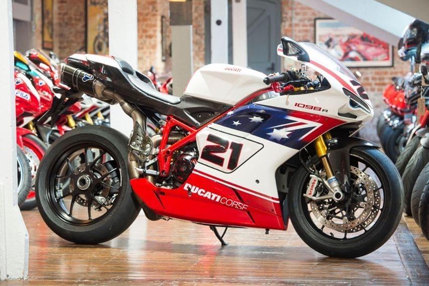 Ducati 1098R Troy Bayliss