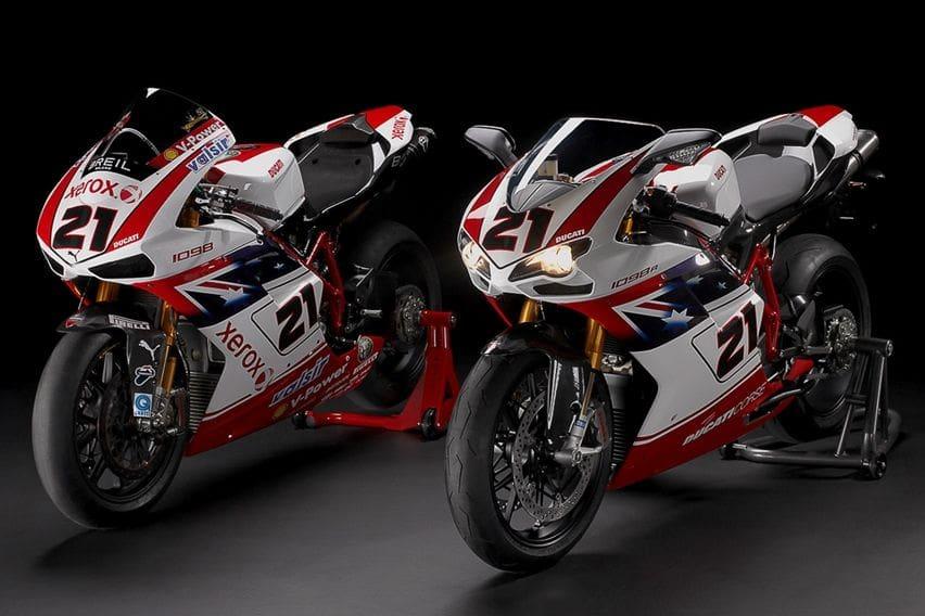 Ducati 1098R Troy Bayliss Limited Edition Sisa Satu Unit