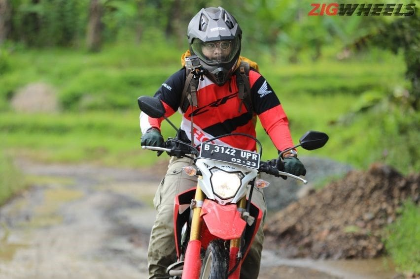 test ride Honda CRF150L