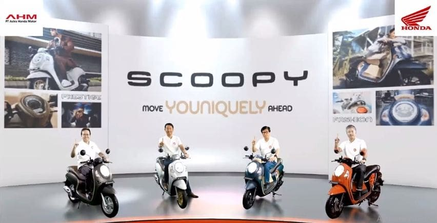 Honda all new scoopy