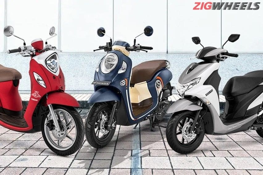 Komparasi Skutik Eksentrik: Honda All New Scoopy Vs Yamaha Fino Vs Yamaha Freego