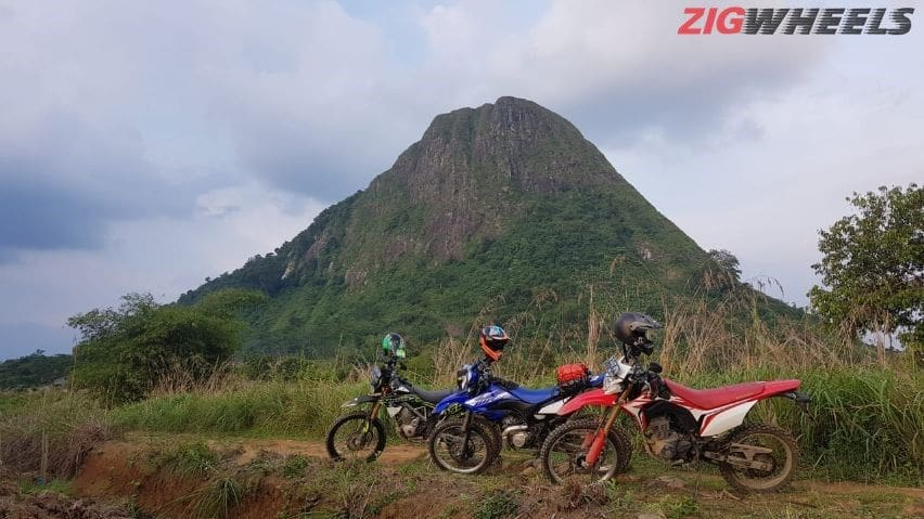 komparasi trail 150 cc