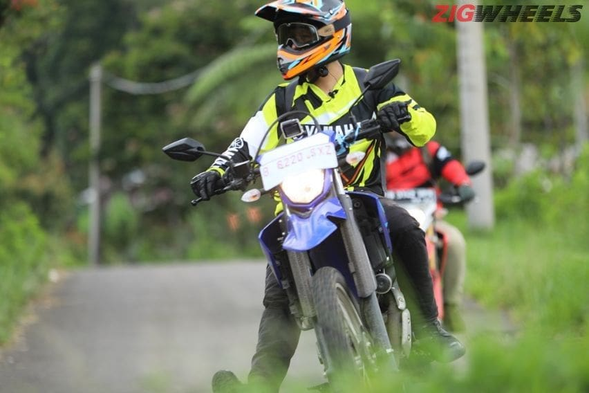 Test ride Yamaha WR155R