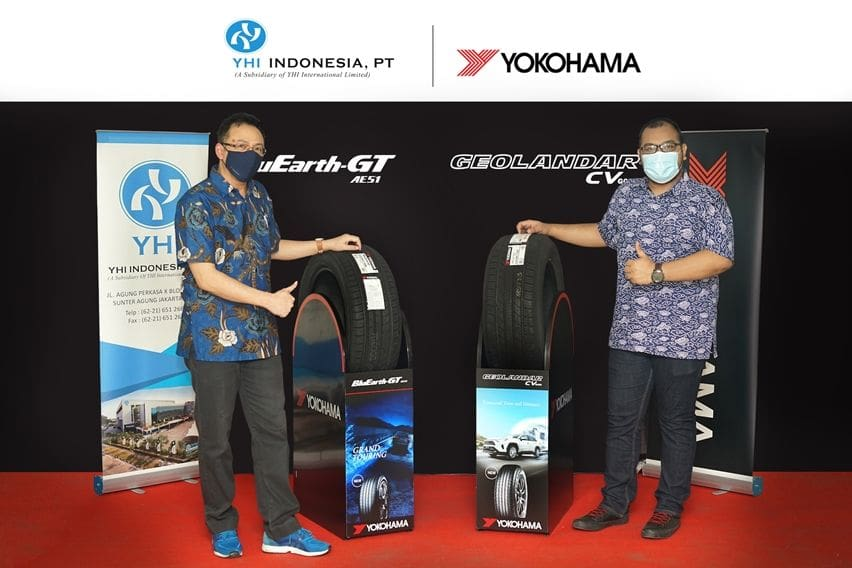 Yokohama Luncurkan Ban Mobil Perkotaan dan SUV