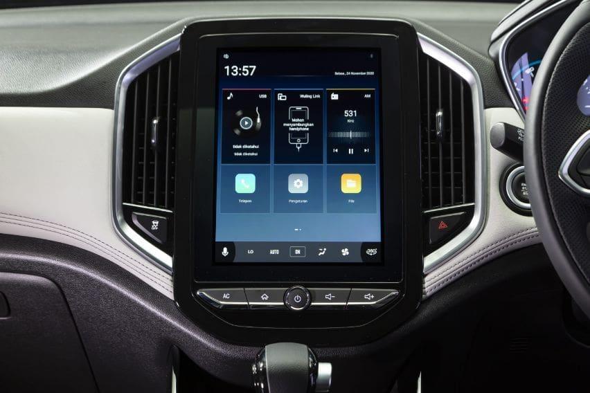 Wuling almaz touchscreen