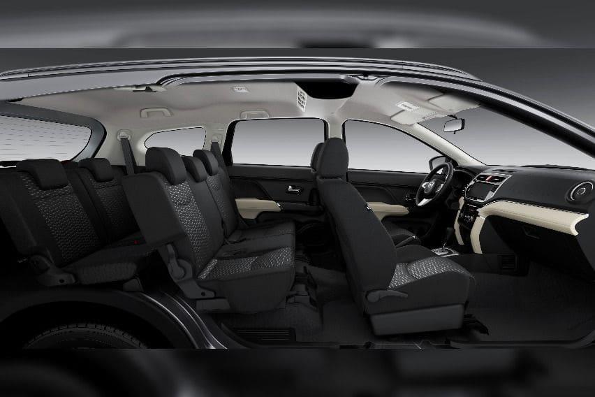 Toyota RUsh seats