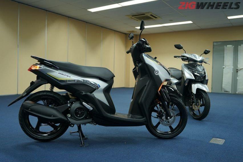 Detail Lengkap Dua Varian Yamaha Gear 125 Mana Yang Direkomendasikan Zigwheels Indonesia