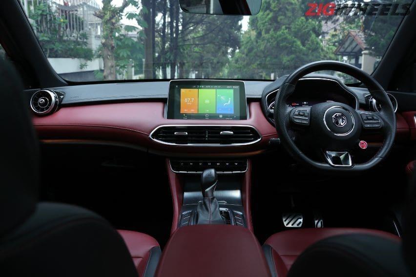 interior MG HS