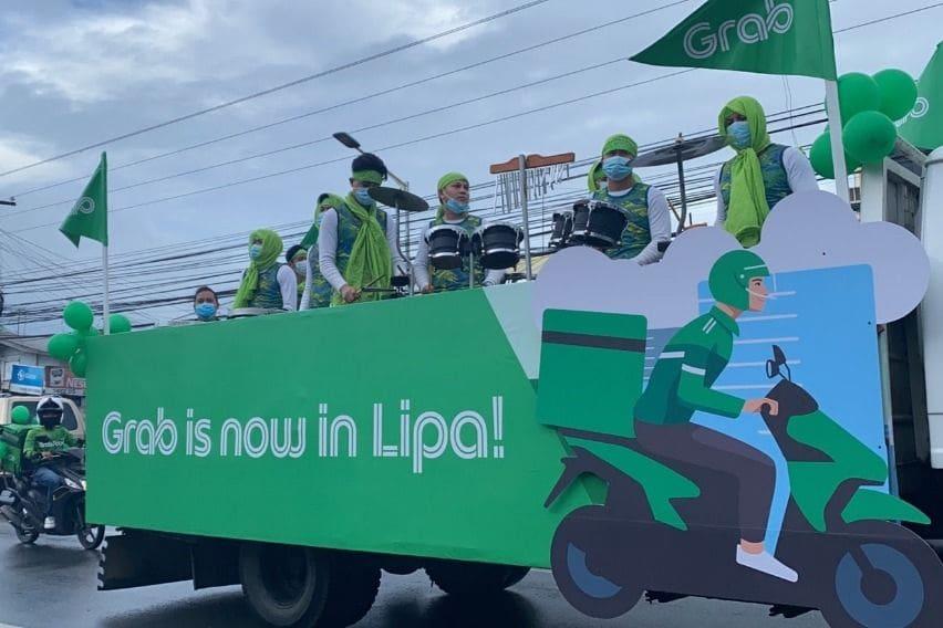 Grab Lipa partnership