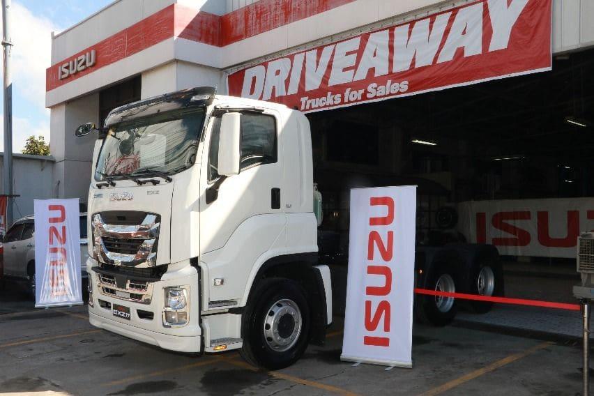 Isuzu PH turns over EXZ77N truck to Neoji Trucking Services