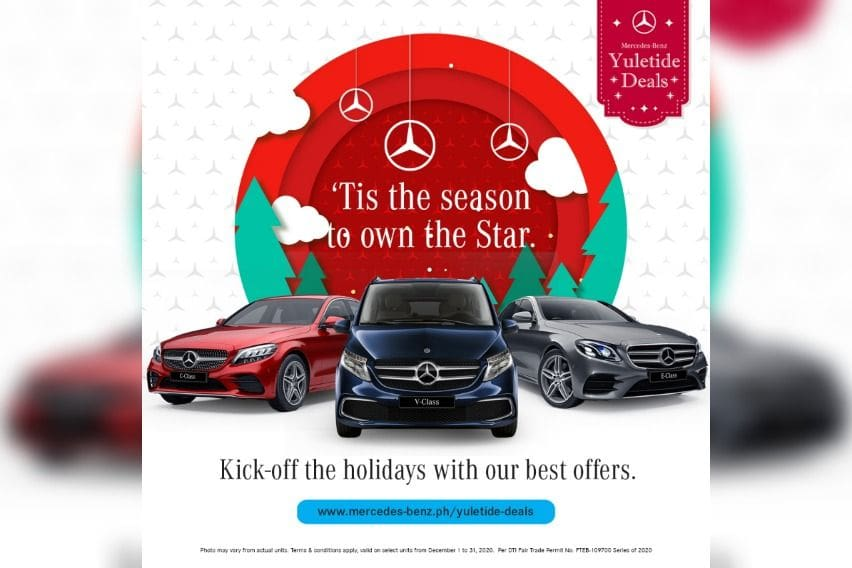 Starry, starry discounts: Mercedes-Benz PH offers Yuletide Deals
