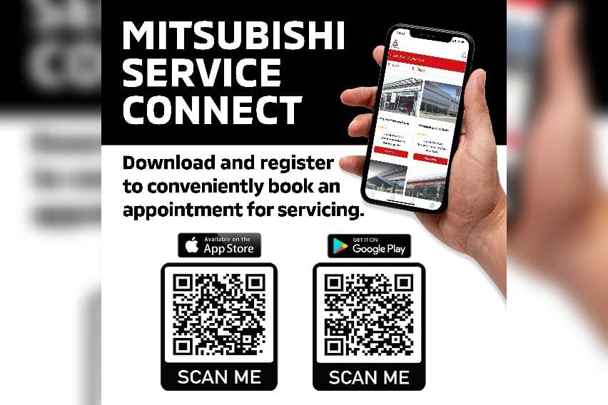 Mitsubishi service connect