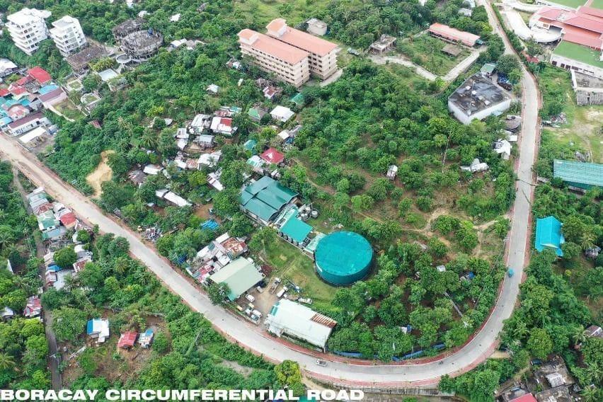 Boracay road