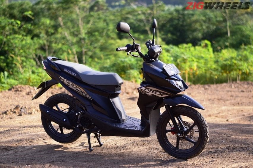 first ride suzuki nex crossover