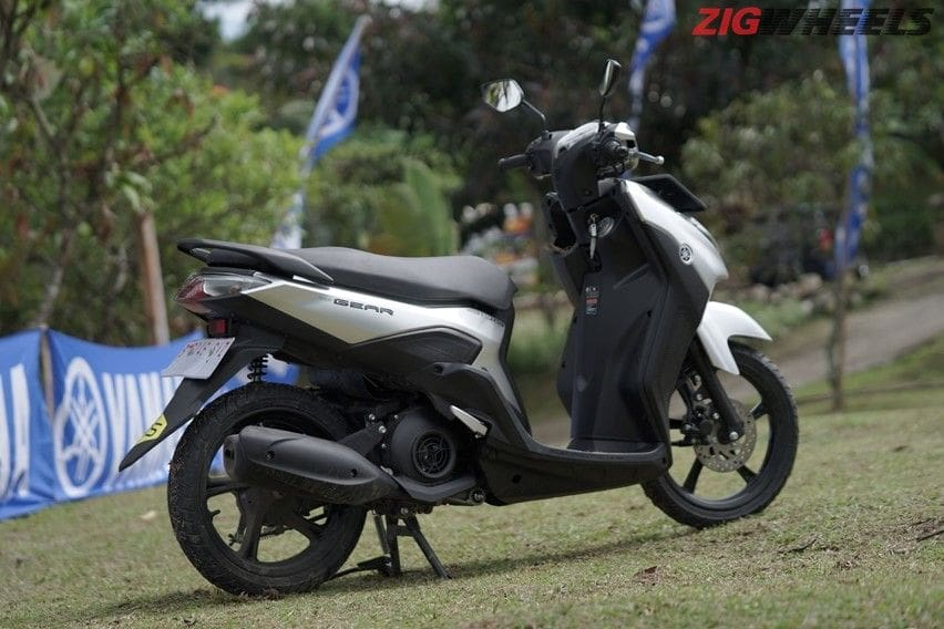 review yamaha gear 125