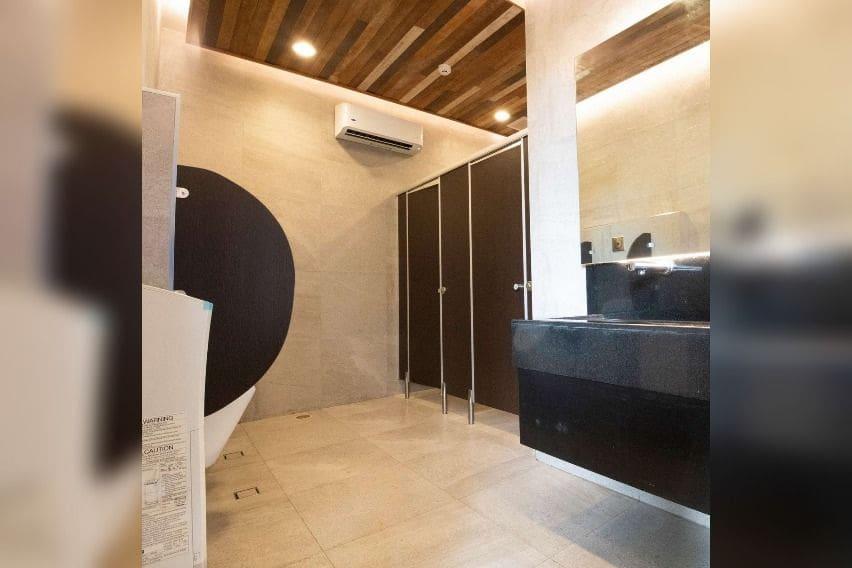 Cleanfuel restroom