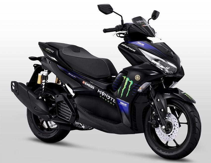 Akhirnya Yamaha All New Aerox Dapat Livery MotoGP, Hanya Tersedia di Varian Tertinggi