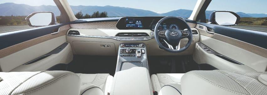 Hyundai palisade cabin