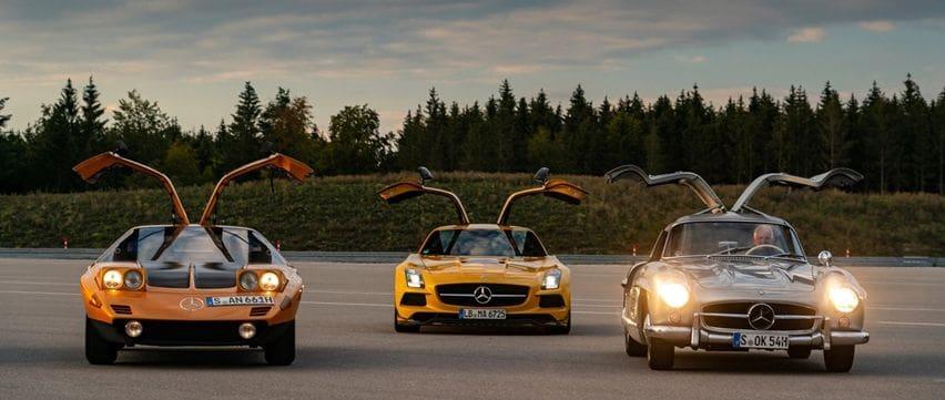 4 Mercedes-Benz Berpintu Gullwing, Melegenda dan Terus Berevolusi