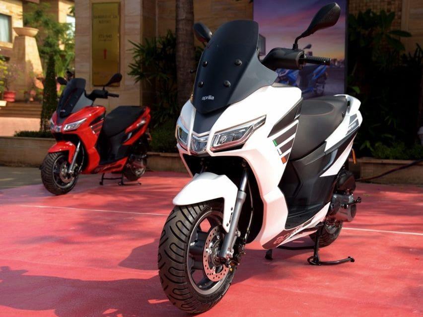 Aprilia Rilis SXR 160, Skutik Sporty Cocok Melawan Yamaha Aerox