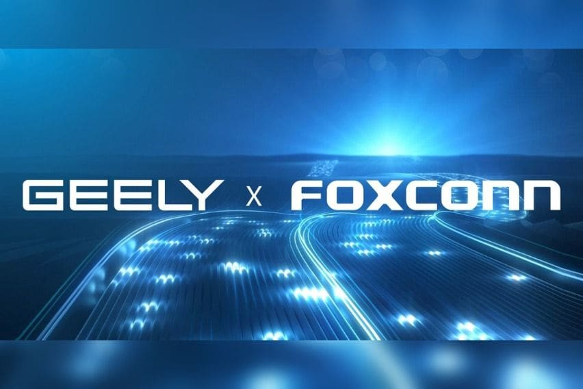 Foxconn-Geely partnership