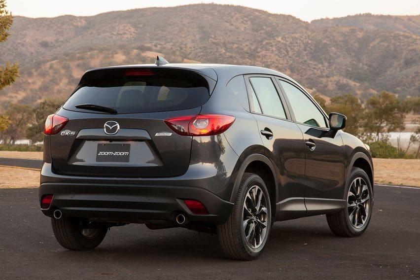 Mazda CX-5 2016 rear