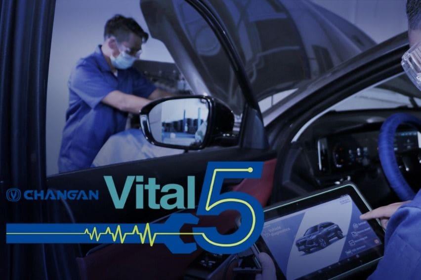 Changan Vital 5 aftersales service