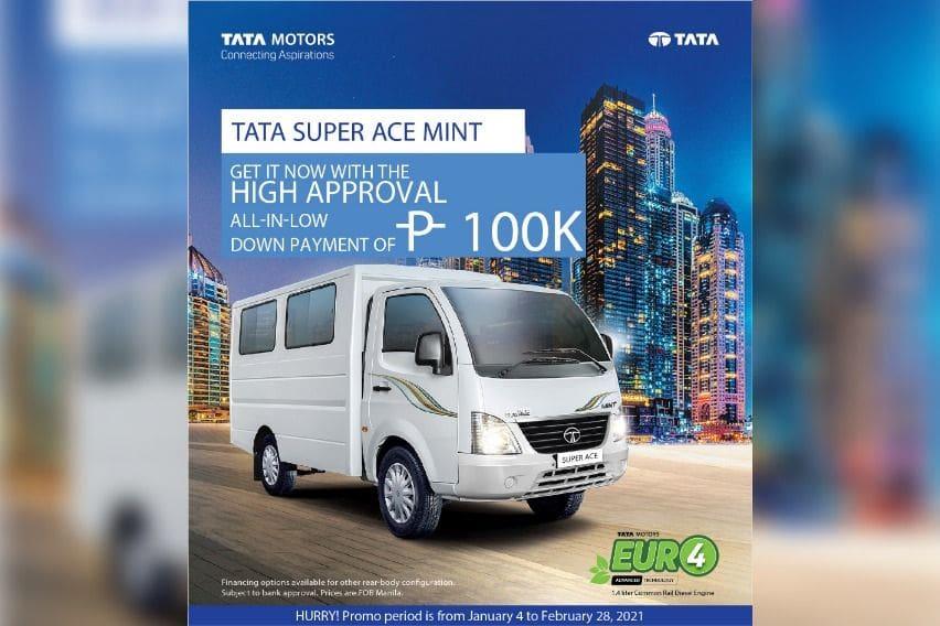 Tata Super Ace Mint