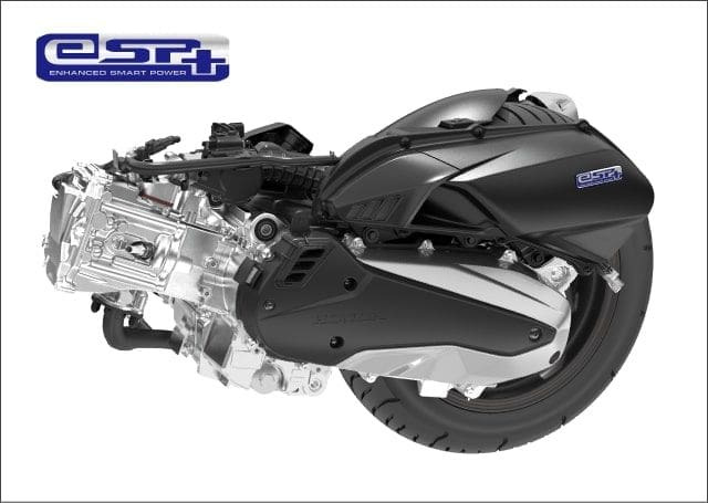 Honda PCX 160 engine