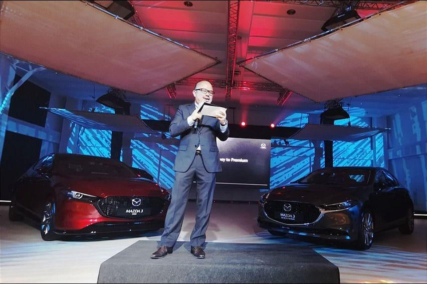 Mazda Philippines President Steven Tan