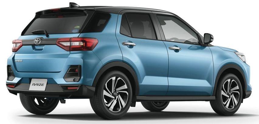 Toyota raize rear