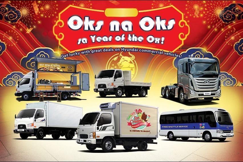 Hytundai Trucks and Bus promo