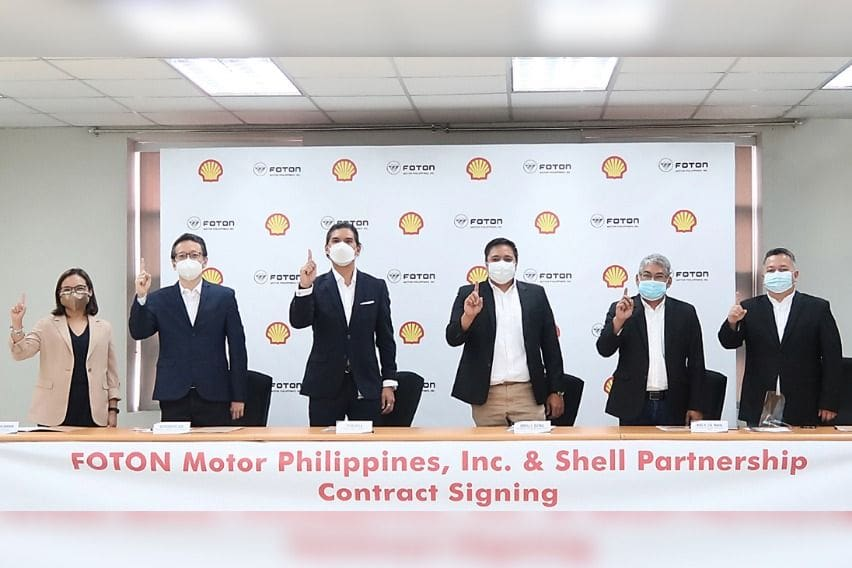 Pilipinas Shell X Foton Motor Philippines