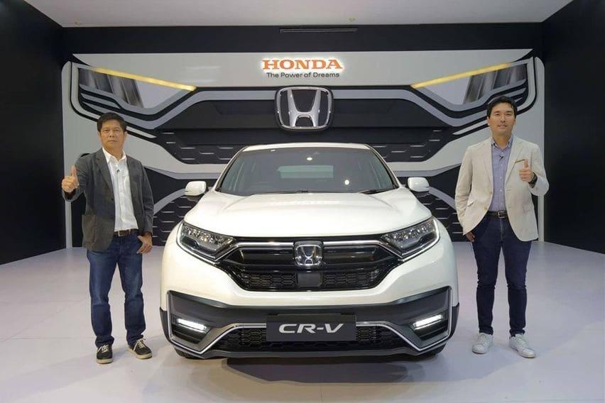 Honda CR-V launch