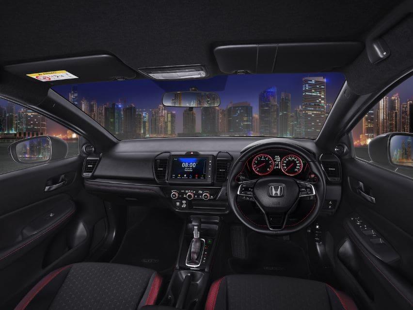 Honda city hatchback interior