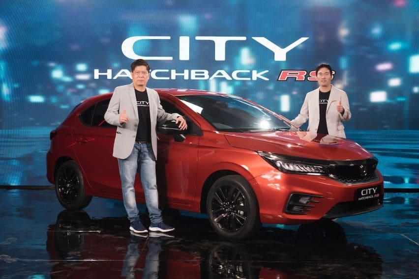 Honda city hatchback launch