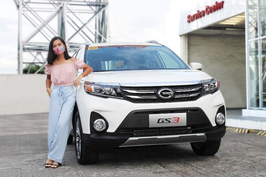 Ariana Dormitorio and her GAC GS3