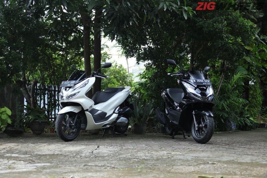 Honda PCX 150 vs PCX 160