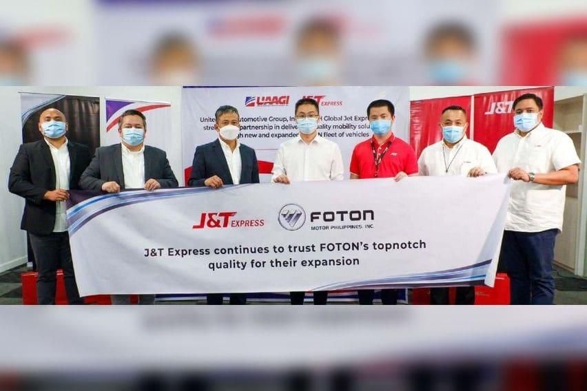 Foton Motor Philippines X J&T Express