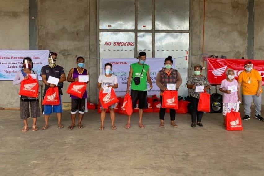 HFI donation in Catanduanes